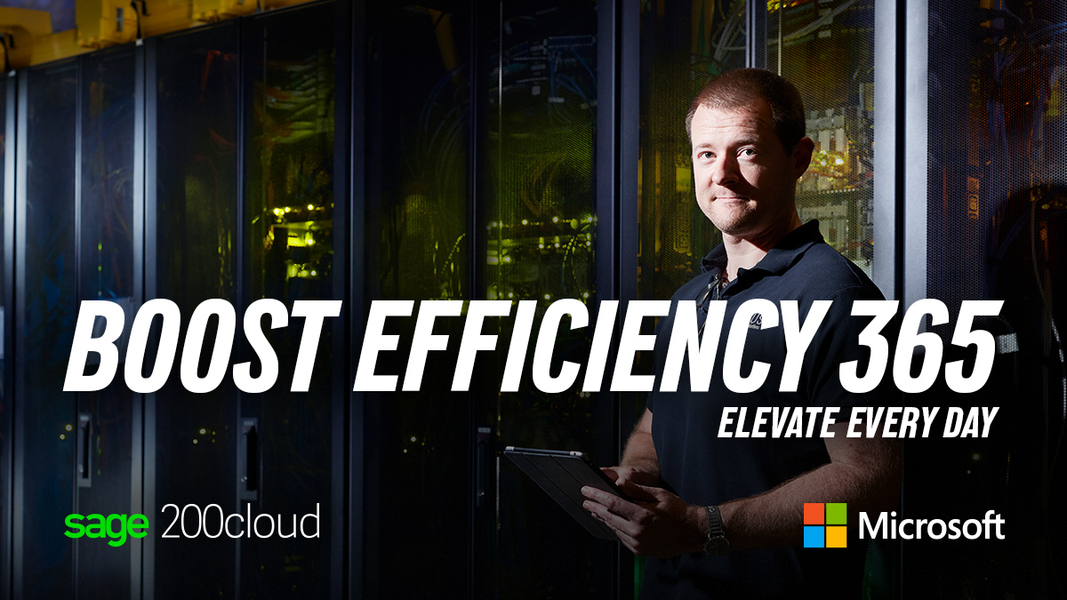 sage200 cloud effeciency