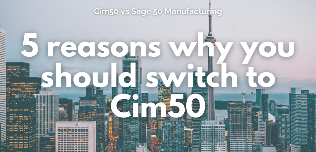 5 reasons why you should switch to Cim50